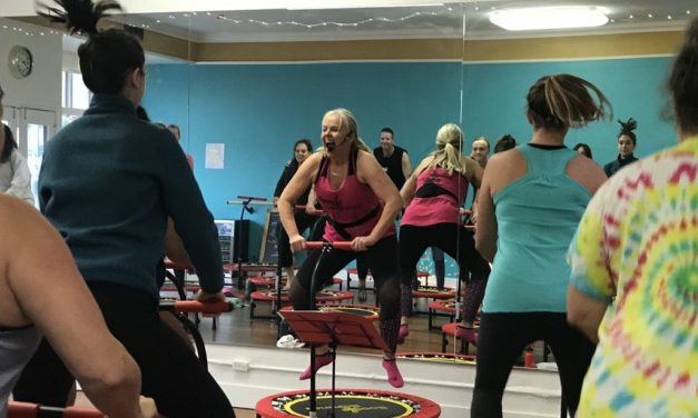 BORN TO BOUNCE   Trampoline class provides full body workout