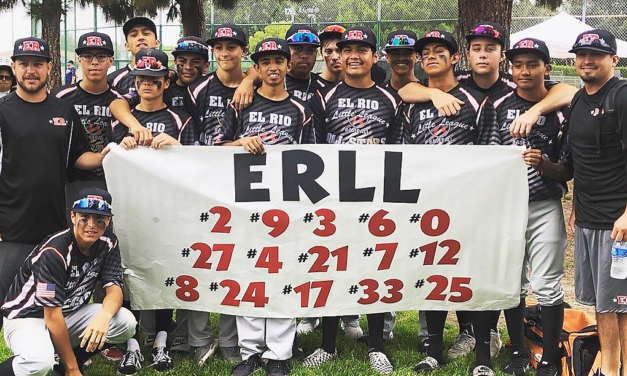 WHO'S ON FIRST?   El Rio Little League State Champs!