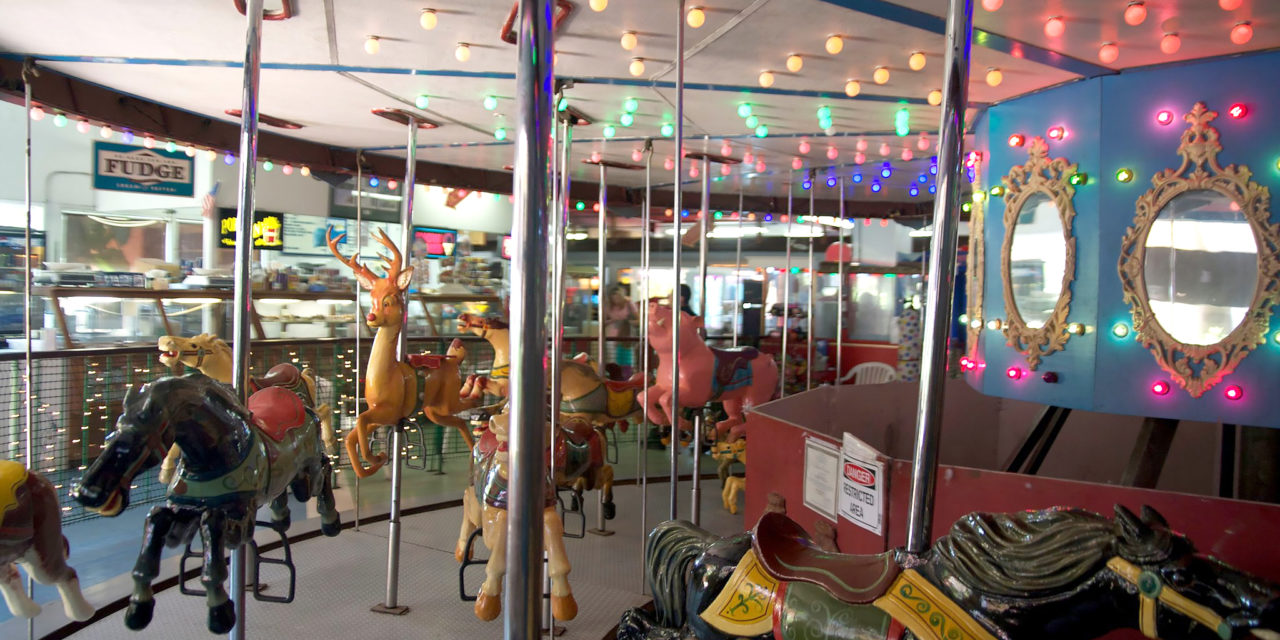 OFF THE MERRY-GO-ROUND? | Port District may force a move for Village Carousel and Arcade